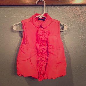 CK baby puffy vest